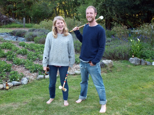 Always time for Croquet